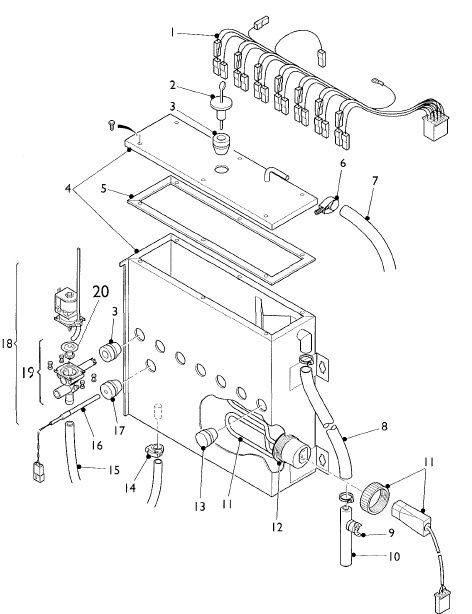 Willys Jeep Parts Diagrams Illustrations From Midwest Jeep Willys Rh