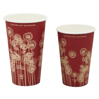 SWIRL PAPER VENDING CUP  9oz 1000 psc