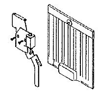 11 vend door damper kit mpn. Black Bedroom Furniture Sets. Home Design Ideas